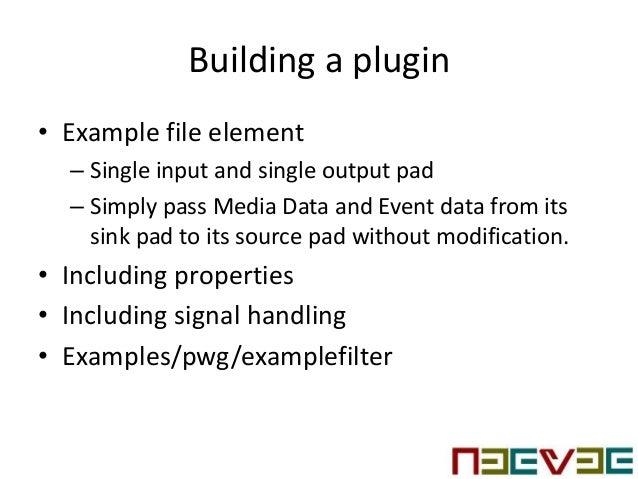 Gstreamer plugin development