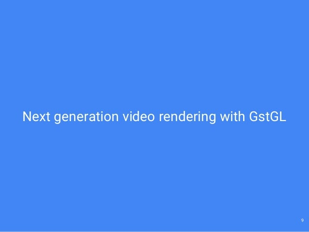 GStreamer support in WebKit  What's new? (GStreamer Conference 2015)