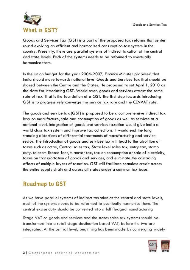 gst essay for upsc