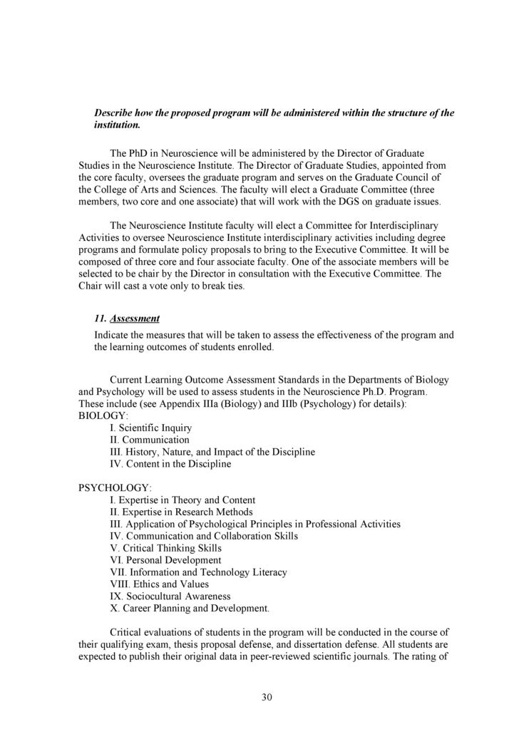 Gsu Ph D Neuroscience Proposal Bor Submission