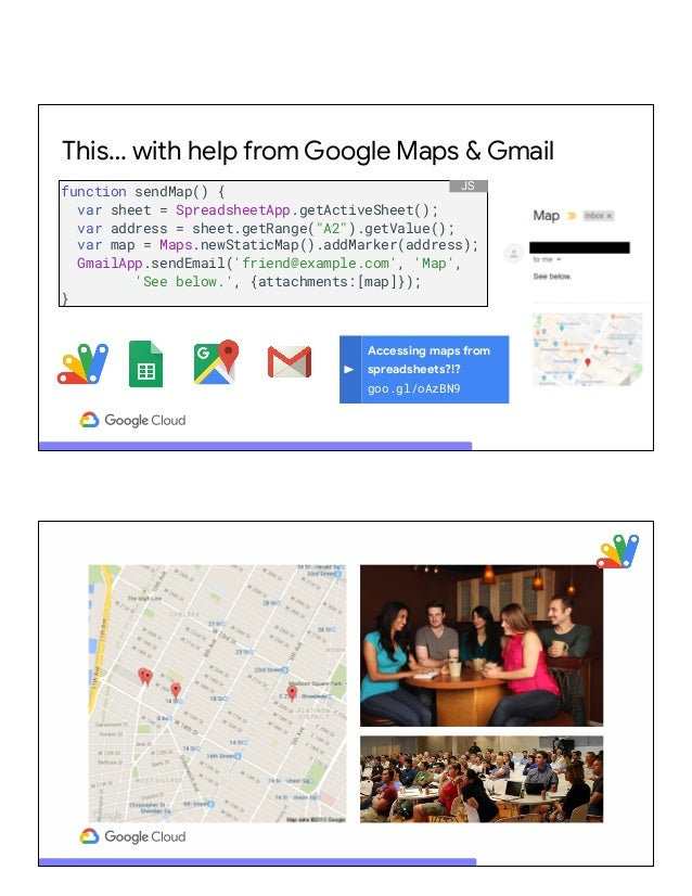Power your apps with Gmail, Google Drive, Calendar, Sheets, Slides & …