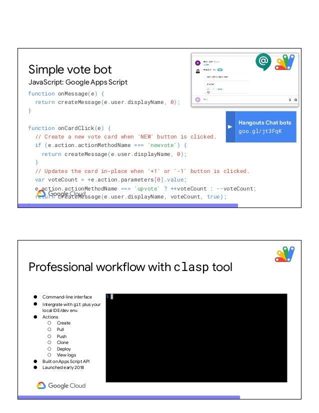 Google Sheets Bot