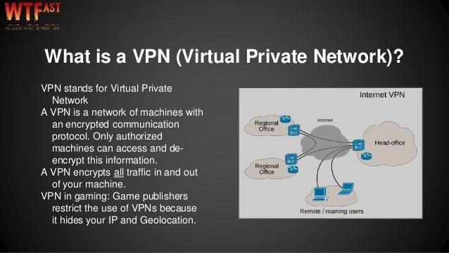 WTFast vs VPN