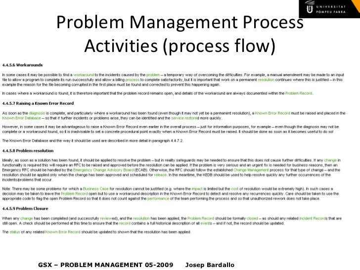 Itil v3 problem management problem management maxwellsz