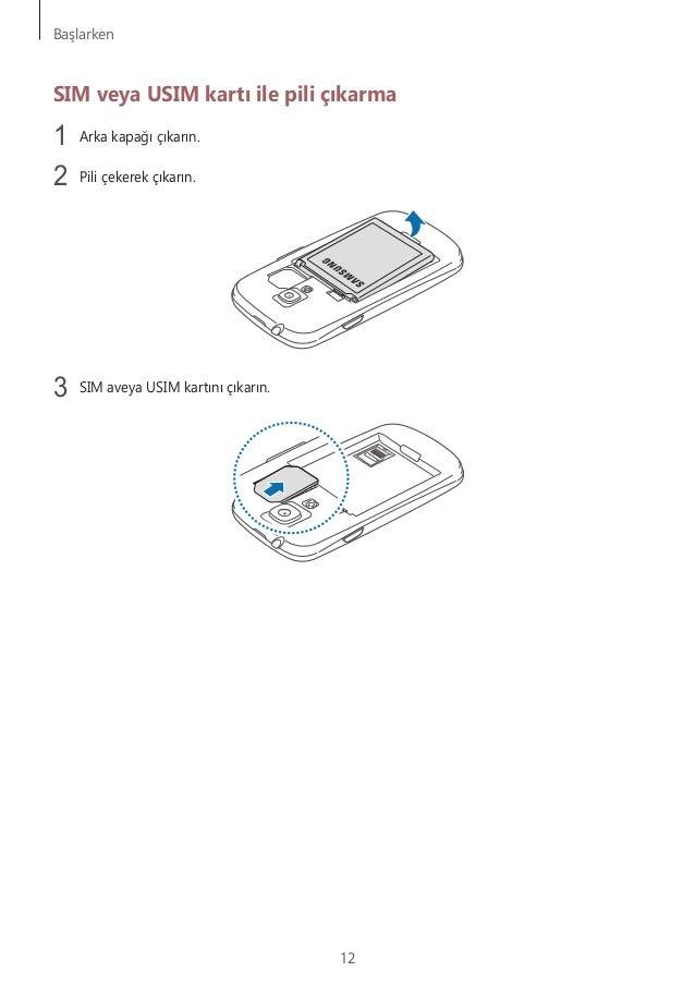Galaxy S3 Mini Kullanm Klavuzu