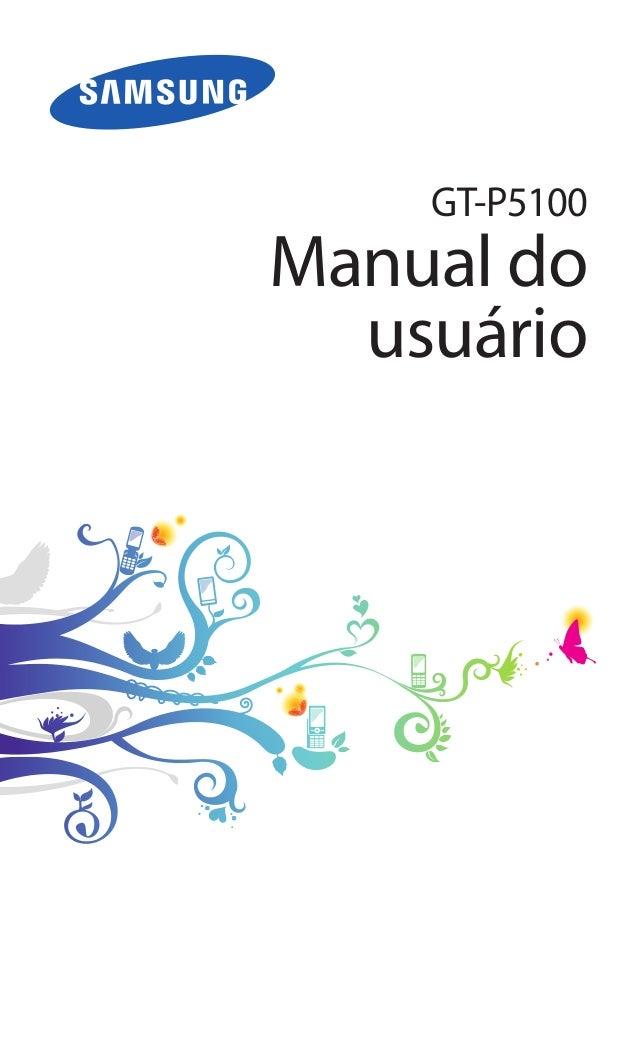 GT-P5100Manual do  usuário