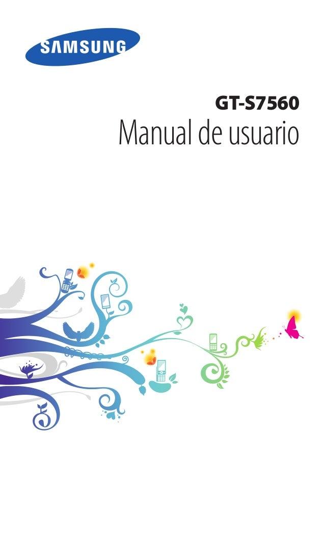 GT-S7560 Manualdeusuario