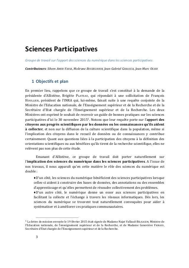 apport des sciences du num u00e9rique dans les sciences