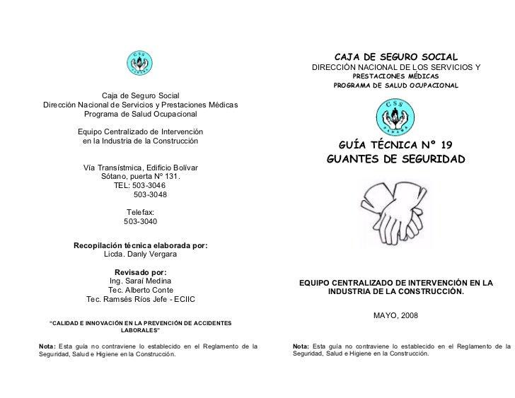 CAJA DE SEGURO SOCIAL                                                                            DIRECCIÓN NACIONAL DE LOS...