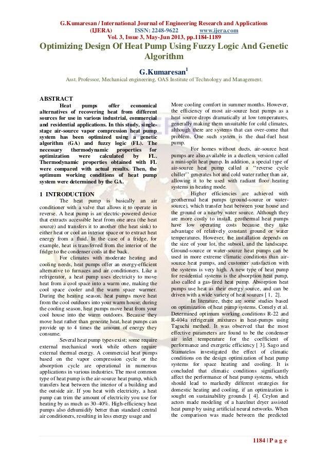 G.Kumaresan / International Journal of Engineering Research and Applications(IJERA) ISSN: 2248-9622 www.ijera.comVol. 3, I...