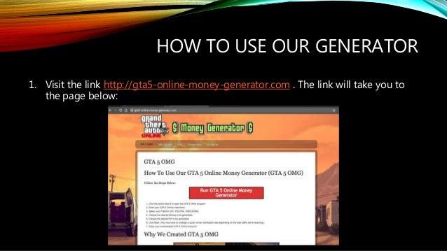 GTA 5 Online Money Generator - [101% Working] - [Updated Daily]