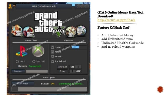 GTA 5 Online Money Hack Tool For Xbox 360 And PS3 [Ultimate