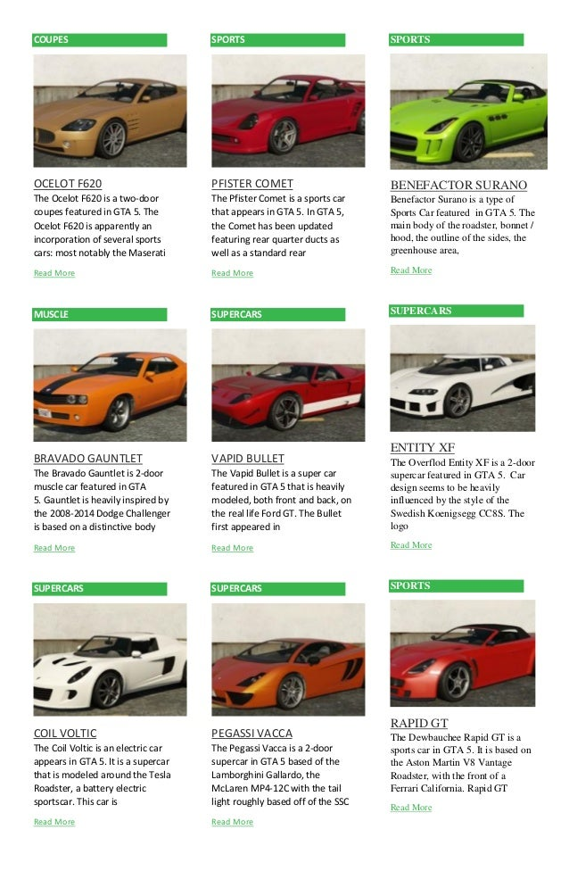 Rare Muscle Cars In Gta 5 Online GTA 5 Rare Secret Cars 3 FREE