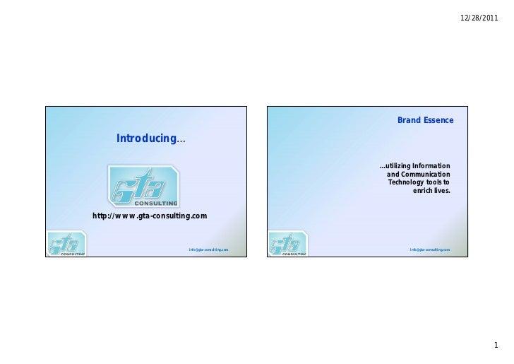 12/28/2011                                                        Brand Essence     Introducing…                          ...