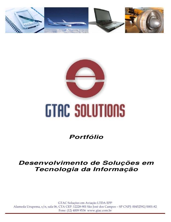 Gtac Solutions Portfolio