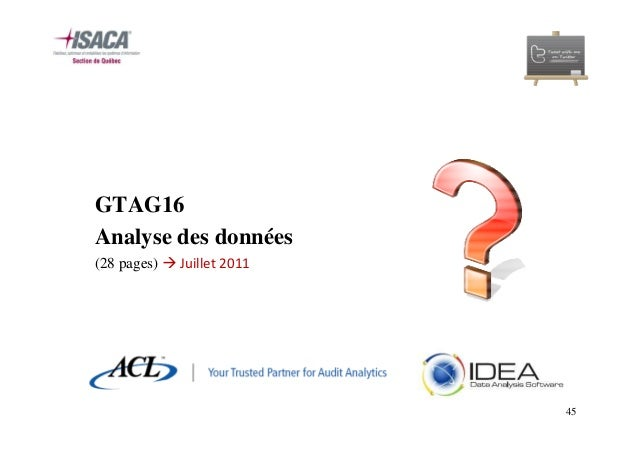 GTAG: Documents de référence