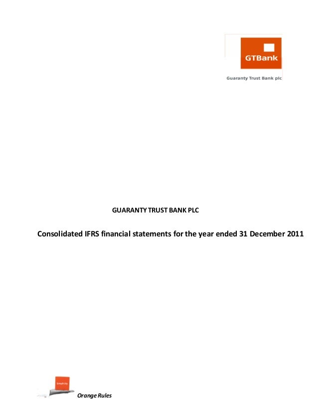 GUARANTY TRUST BANK PLC         ...
