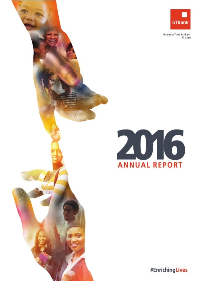 GTBank annual report 2016
