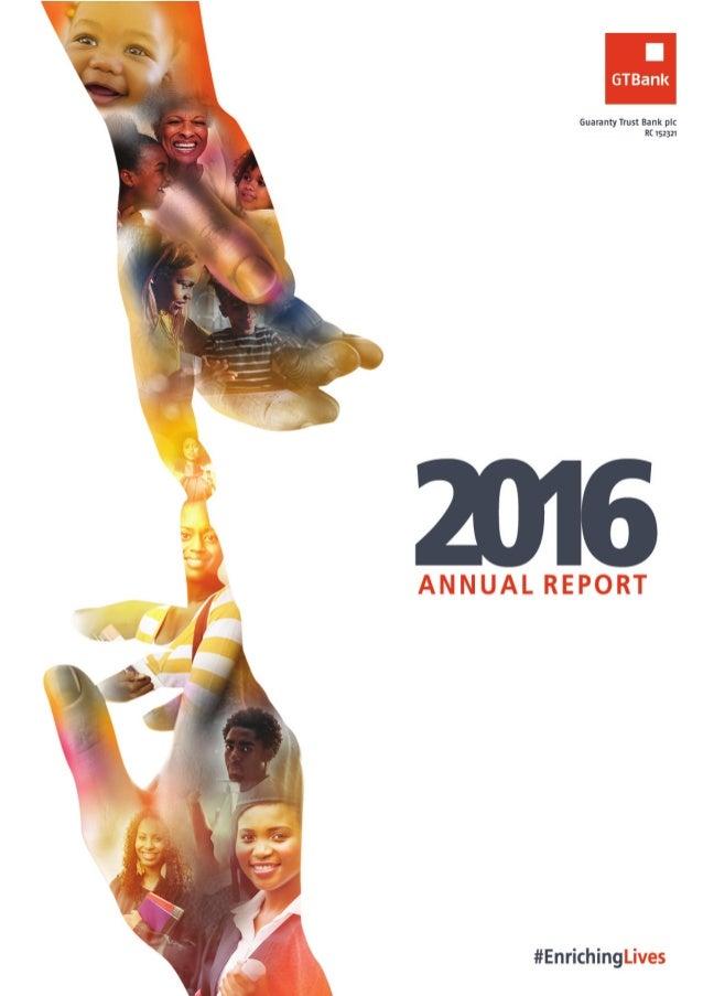 GTBank annual report 2016
