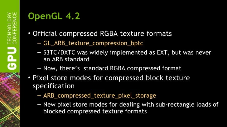 GTC 2012: NVIDIA OpenGL in 2012