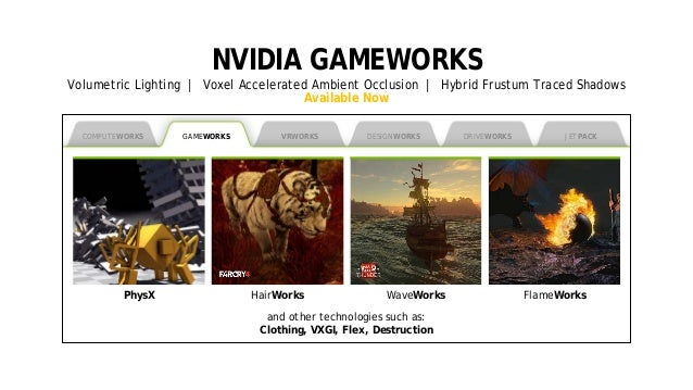 4 NVIDIA GAMEWORKS Volumetric Lighting | Voxel Accelerated Ambient Occlusion | Hybrid Frustum Traced Shadows Available Now...