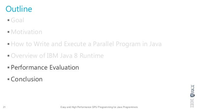 easy and high performance gpu programming for java programmers
