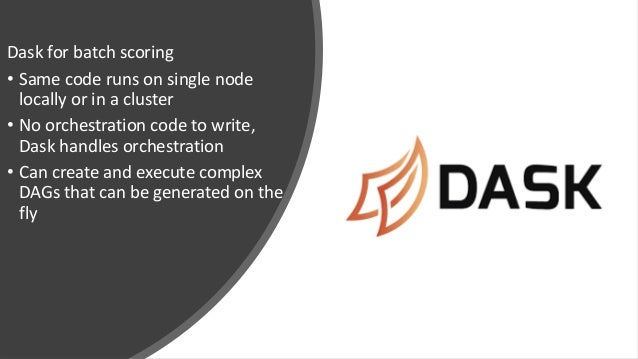 Dask for Fast Distributed Batch Scoring of Computer Vision