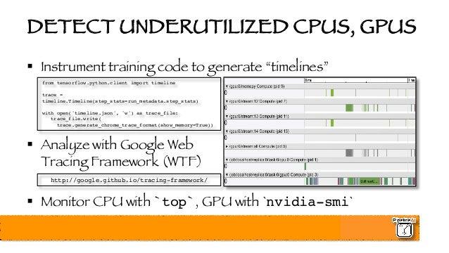 Nvidia GPU Tech Conference - Optimizing, Profiling, and Deploying Te…