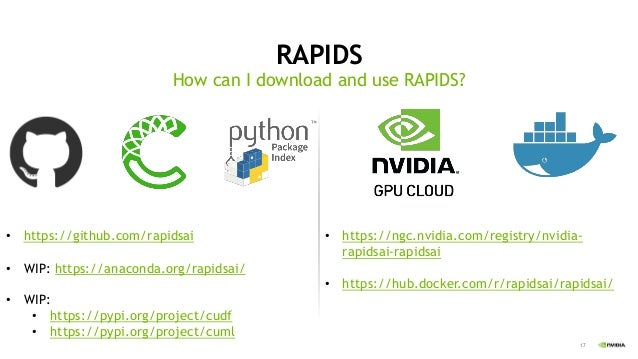 RAPIDS: GPU-Accelerated ETL and Feature Engineering