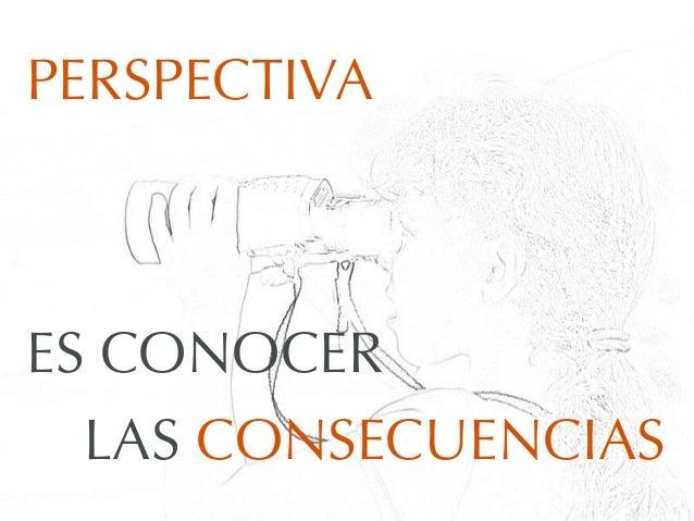 PERSPECTIVAES CONOCERLAS CONSECUENCIAS