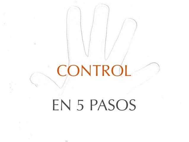 CONTROLEN 5 PASOS
