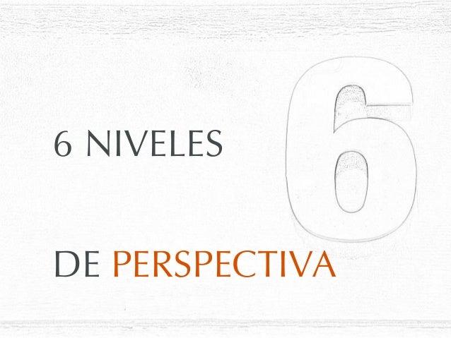 DE PERSPECTIVA6 NIVELES