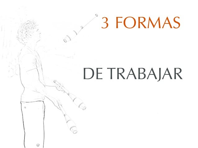 3 FORMASDE TRABAJAR