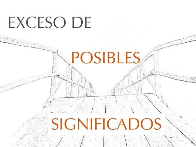 EXCESO DESIGNIFICADOSPOSIBLES