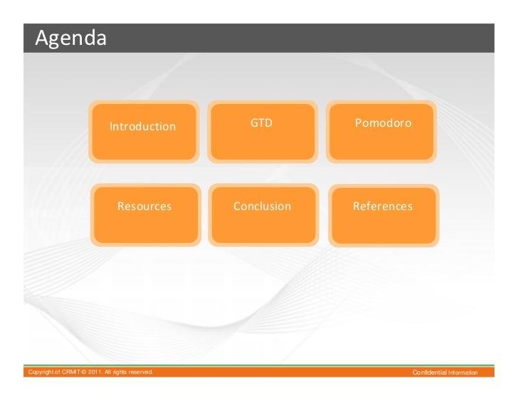 Gtd and pomodoro Slide 2
