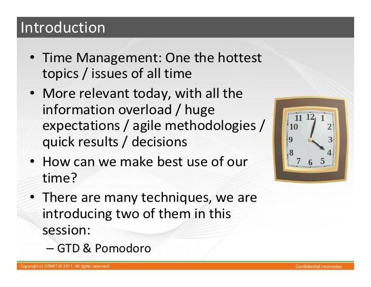 Gtd and pomodoro Slide 3