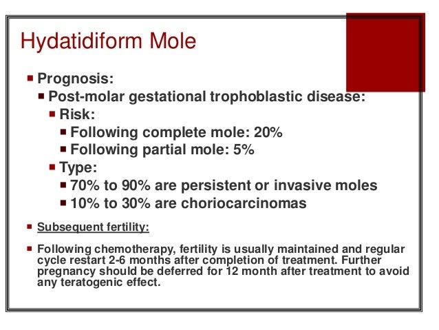 Gestational Trophoblastic Disease Molar Pregnancy