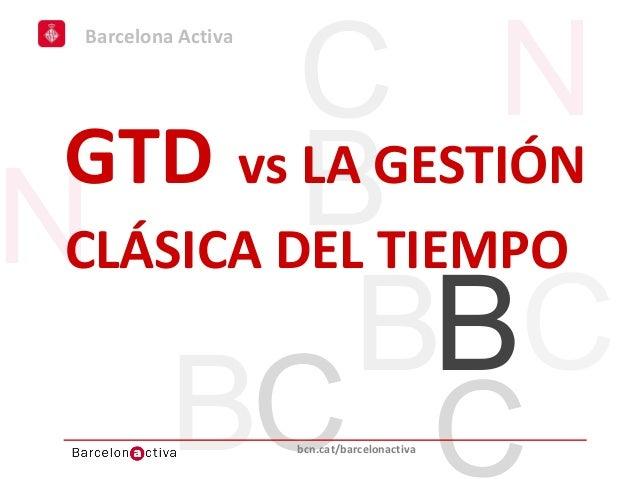 GTD vs la gestión clásica del tiempo
