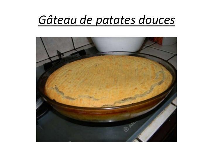 Gâteau de patates douces<br />