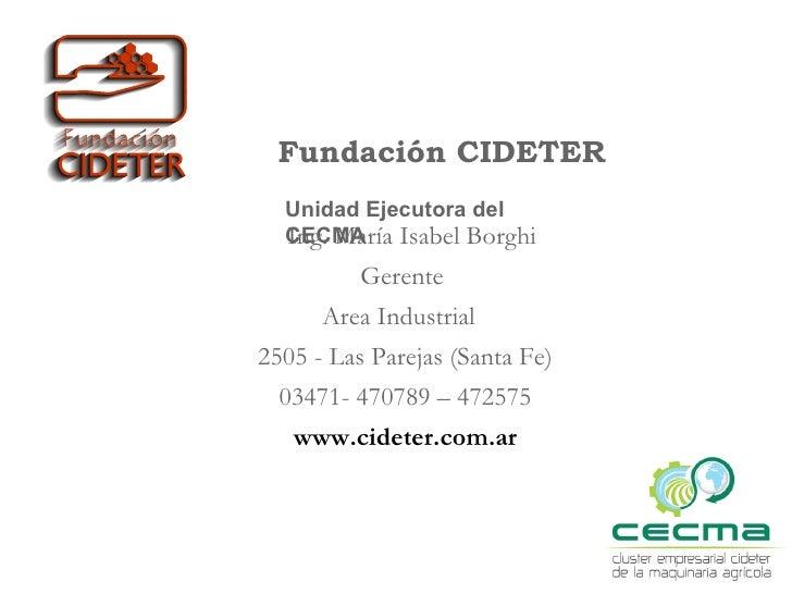 GTEC Rosario Fundacion Cideter