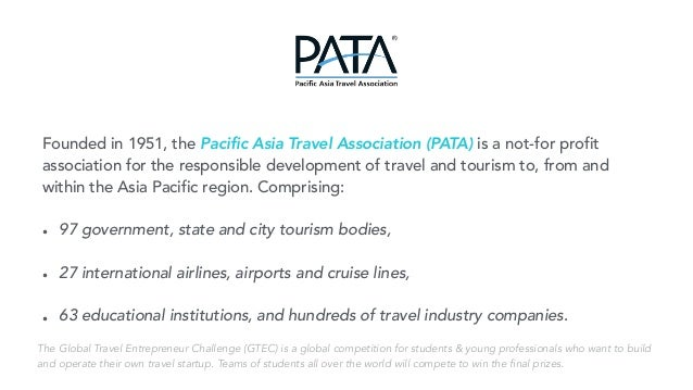 Global travel entrepreneur challenge 2016 turn your dream into real 16 founded in 1951 the pacific asia travel publicscrutiny Images