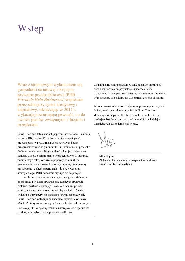 GRANT THORNTON INTERNATIONAL BUSINESS REPORT