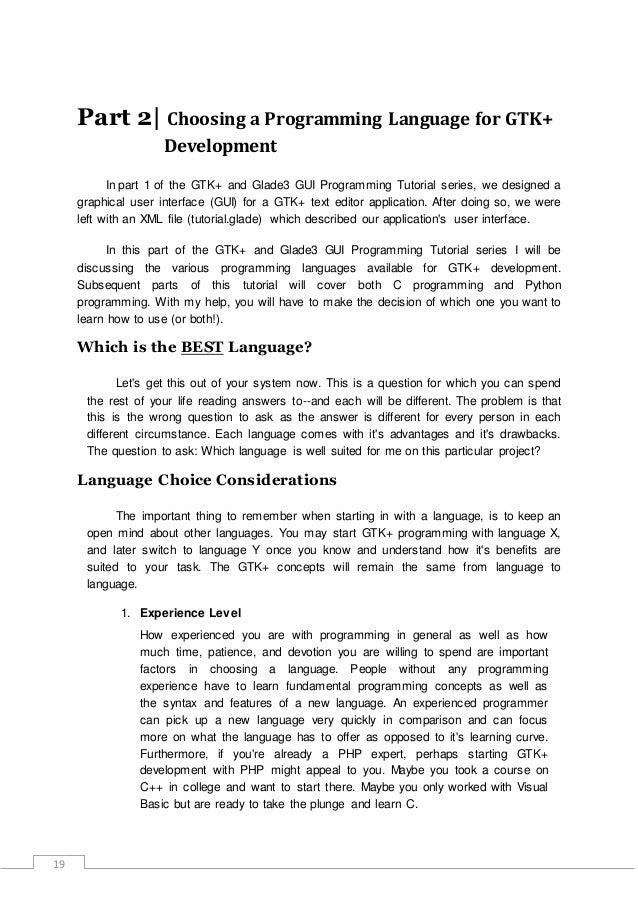 Gtk development-using-glade-3