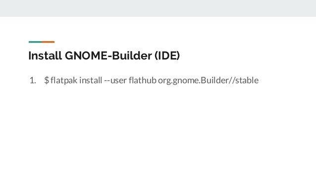 Python을 이용한 Linux Desktop Application