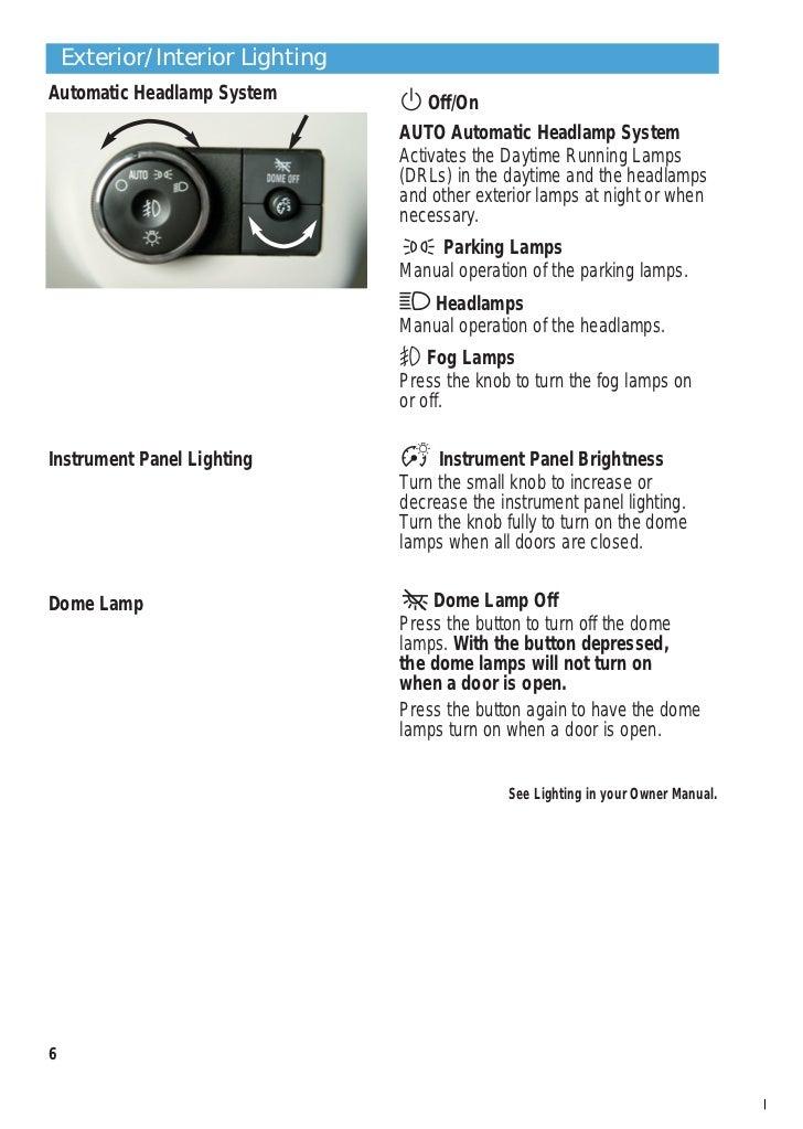 buick enclave interior lights. 5 6 exteriorinterior lightingautomatic buick enclave interior lights d