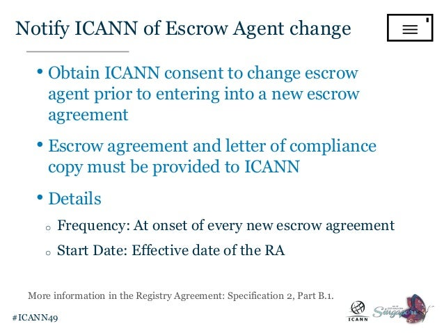 Gtld Registry Ongoing Operations From Icann 49