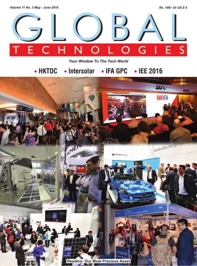 Global Technologies may june issue 2016 magazine