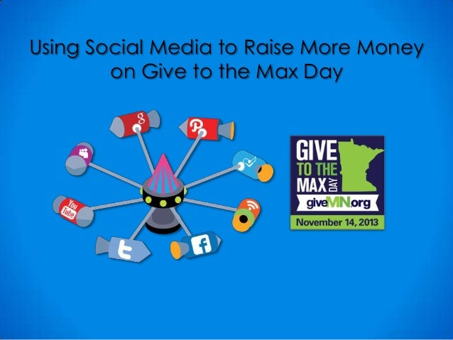 Using Social Media to Raise More Money on Give to the Max Day