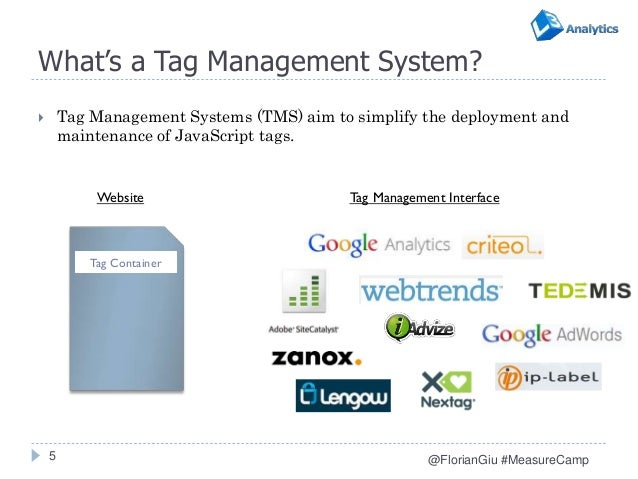 01ee0364f37 ... 5. What s a Tag Management System