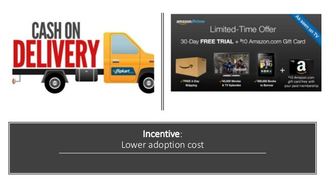 Incentive: Lower adoption cost